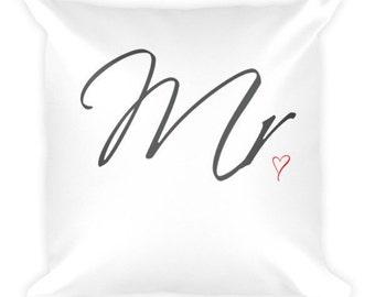 Mr. Heart Pillow