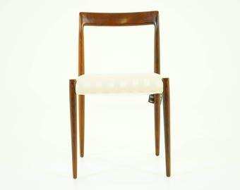 309-014.1 8 Rosewood Dining Chairs Danish Mid Century Modern