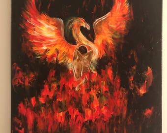 Phoenix Rising (16x20)