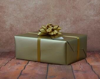 Premium Collection Gift Wrap Kit - Gold