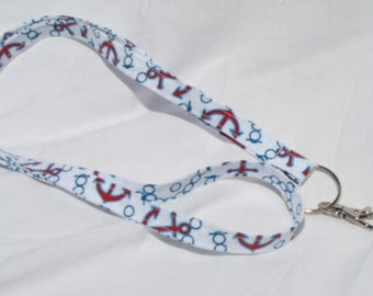 Anchor Printed Lanyard