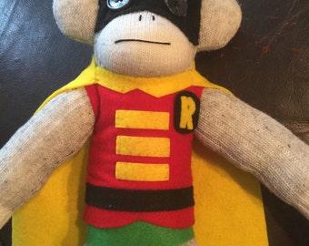 Robin Sock Monkey