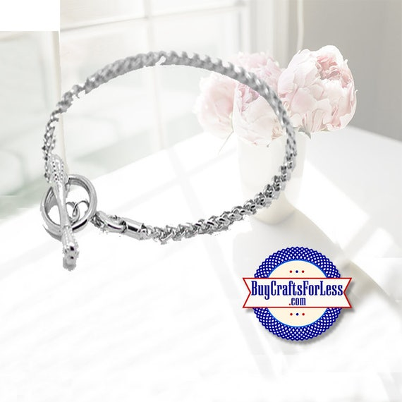 Snake BRACELET, Toggle End +FREE ShiPPing & Discounts*