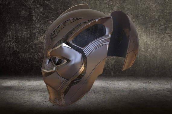 3d File Black Panther 2018 Mask Helmet Printing Model