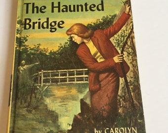The Haunted Bridge by Carolyn Keene NANCY DREW 15 1937 Rare Vintage Book!