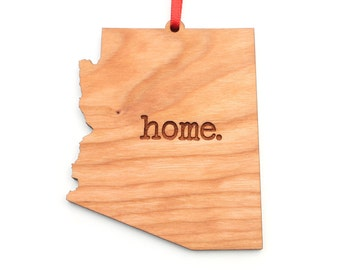 Arizona home. Christmas Ornament - AZ Arizona Ornament - Home Christmas Ornament