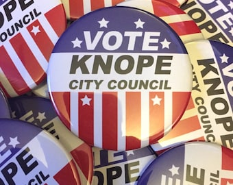 Leslie Knope Campaign Button