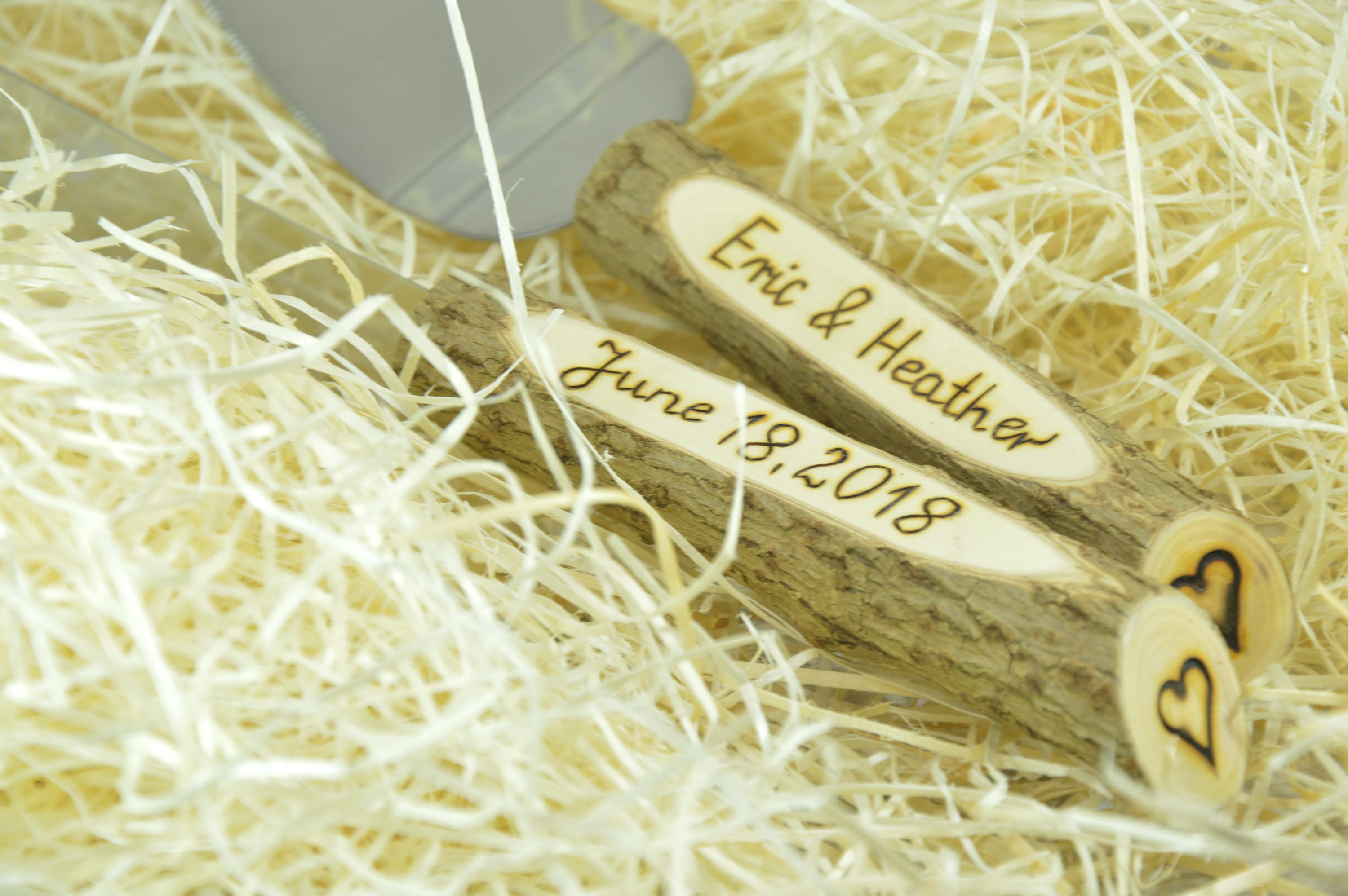 Wedding knife set.Wedding cake set.Personalized knife. Cake