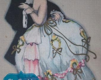 Ballerini & Frantini Firenze Vintage Postcard Digital
