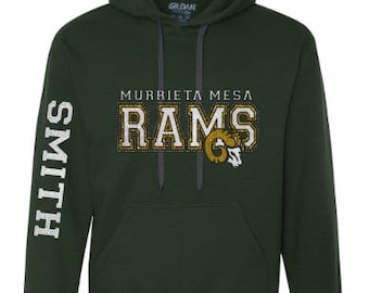 Rams Sweatshirt - Green or White