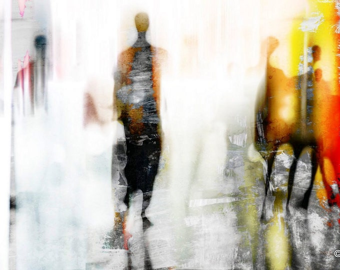 URBAN BLUR II by Sven Pfrommer - Artwork is ready to hang