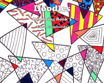 Book: Weasie's World of Doodles, Colouring Book 3