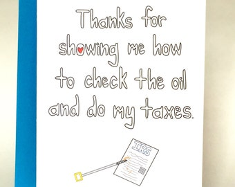 funny dad, Fathers Day, Funny Fathers Day, dad birthday, funny dad card, fathers day card, funny birthday card, funny dad birthday, C-030