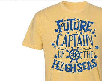 Future Captain Of The High Seas Shirt - Various Shirt Styles to Choose