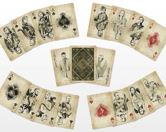 Game of Thrones Playing Cards (Vintage)