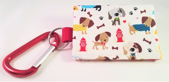 Bag Buddy - Dog Poop Bag Holder / Pet Waste / Poo Bag Carrier / Leash Pouch / Poo Bag Holder / Pet Lover / Gift Idea