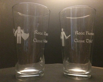 RPG Adventurer Glass