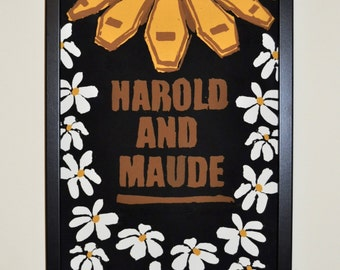 Harold and Maude Poster - A4 or A3