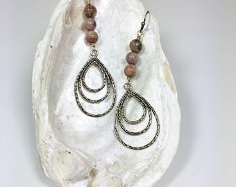 Women's Unique Long Casual Earrings Earthy Urban Boho Chic Bohemian Gypsy Free Spirit Hippie Earrings Jewelry Gifts for Women