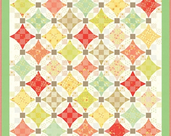 Nine Patch Walz Kit By Fig Tree and Co. for Moda (KIT20300)