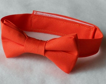 Orange Bowtie - Infant, Toddler, Boy                        2 weeks before shipping