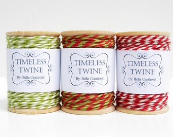Christmas Bakers Twine Large Party Pack by Timeless Twine