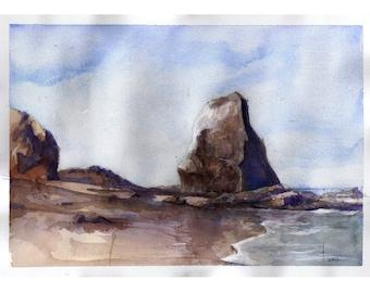 Santa Cruz Beach - Colour Study