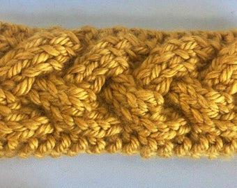 READY TO SHIP!!! Cable Knit Headband, Women's Winter Headband, Ear Warmer,  Cable Knit Headband