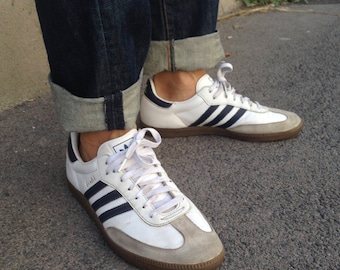 Chaussures Adidas Samba blanches Fashion homme Jo7N8ohv