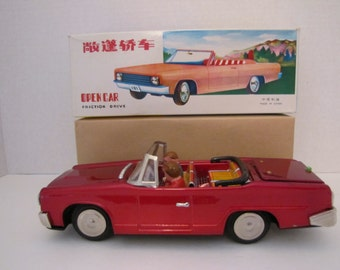 Vintage Tin Toy Car MF191