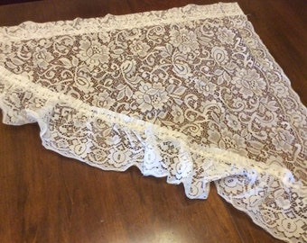 Vintage Lace Valance Pair/Set