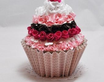 Cupcake Gift Card Holder - Shabby Chic