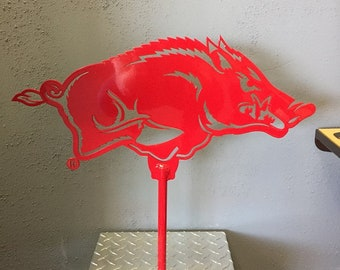 Large Razorback Yard Sign
