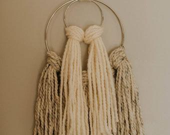 Double Ring Yarn Hanging / Yarn Hanging