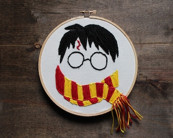 Harry Potter Embroidery Hoop