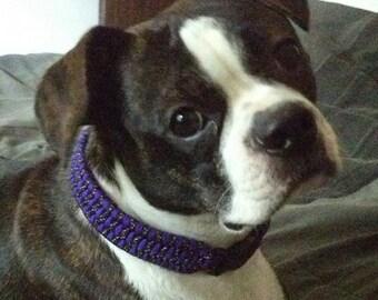 Custom Paracord Dog Collar - Medium