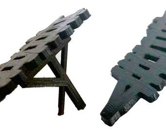 Fireball Island Replacement/Reproduction Bridges Kit