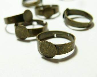 10 blank ring tray BR 8 mm