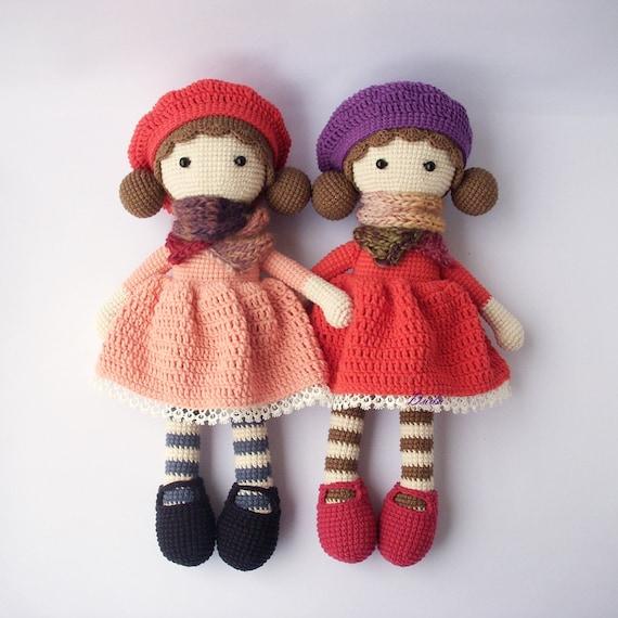Pdf Crochet Doll Aria Crochet Doll Crochet Pattern Doll