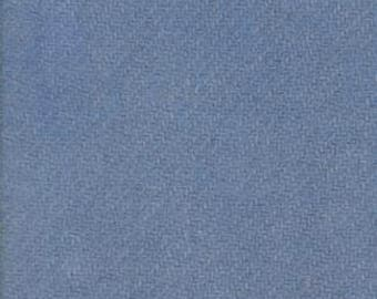 Moda 100% Wool French Blue 5481049 - 1/2 yd x 54 inches