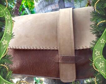 Elephant Nubuck Briefcase