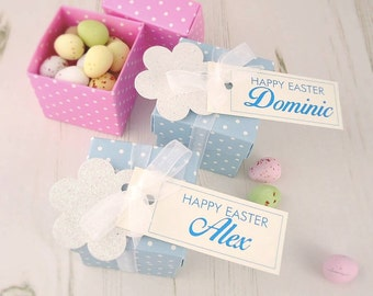 Personalised Easter Boxes - easter gifts - easter mini eggs - easter treatsgift for her
