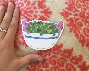 Salad Bath