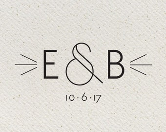 Carlysle Deco Wedding Logo