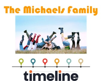 Family Timeline Book