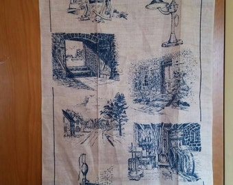 Linen Kitchen Towel Amana Iowa