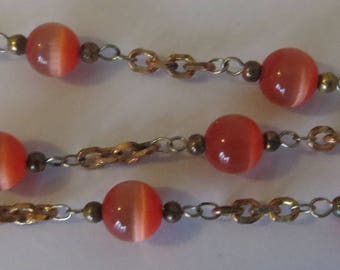 Nunn design beads and chain, beaded chain for jewelry making