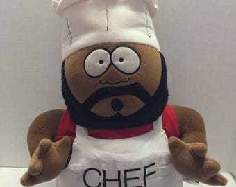 Vintage South Park Chef Doll