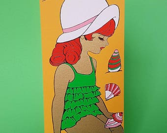 1970s vintage card | For her | Love | Valentine | Anniversary | Birthday | Wife | Girlfriend | Friend | You're the mostest