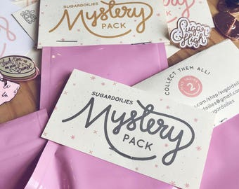 Mystery Enamel Pin Packs